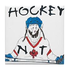 Hockey Nut Tile Coaster