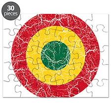Ghana Roundel Puzzle
