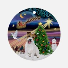 Xmas Magic & JRT Ornament (Round)