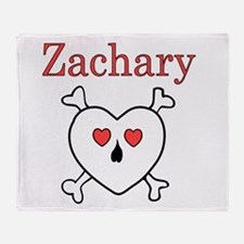 hpiratezachary.png Throw Blanket