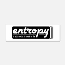 Entropy Car Magnet 10 x 3