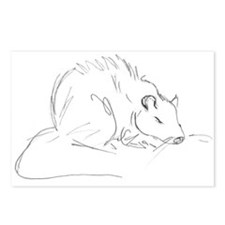 Sketch Rat Postcards (Package of 8)