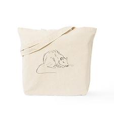 Sketch Rat Tote Bag