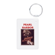 pearl harbor poster Keychains