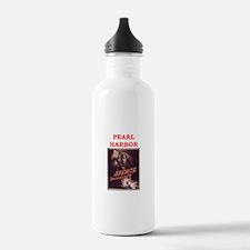 pearl harbor poster Water Bottle