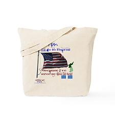 When I Die... Korea Tote Bag