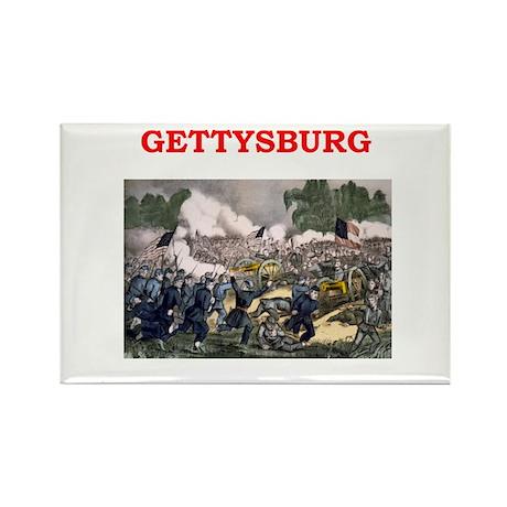 gettysburg Rectangle Magnet