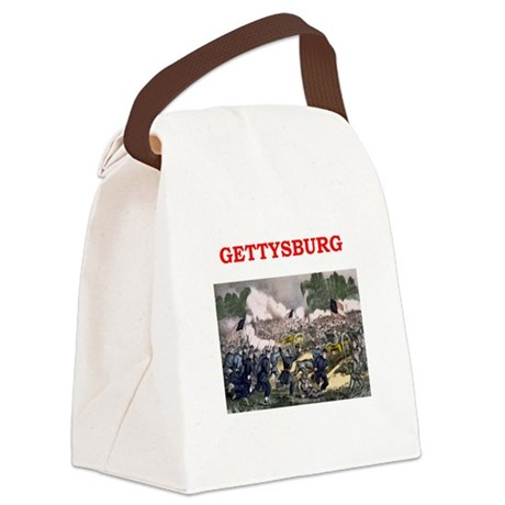 gettysburg Canvas Lunch Bag