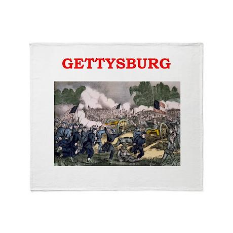 gettysburg Throw Blanket