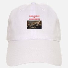 declaration of independence Baseball Baseball Cap