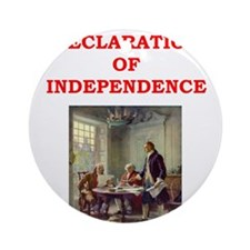 declaration of independence Ornament (Round)
