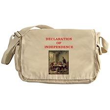 declaration of independence Messenger Bag