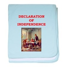 declaration of independence baby blanket