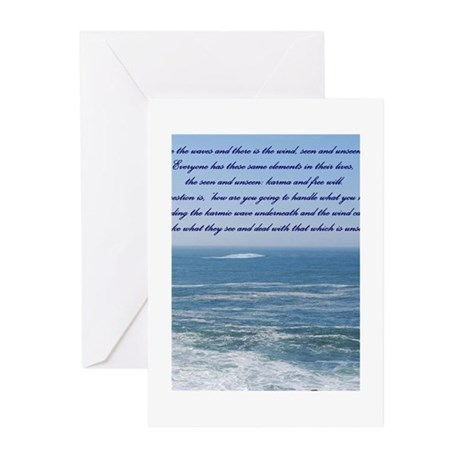 POWER OF THE MOMENT POEM Greeting Cards (Pk of 20)