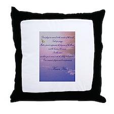 GRATITUDE POEM Throw Pillow