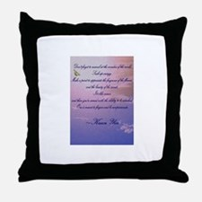 GRATITUDE POEM Throw Pillow