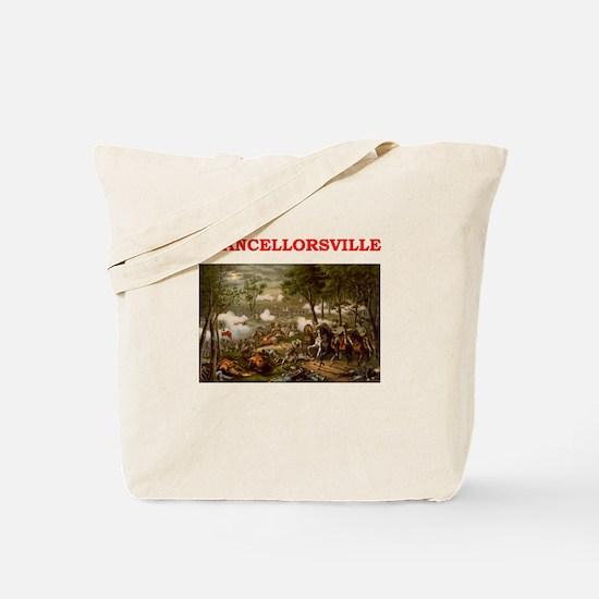 chancellorsville Tote Bag