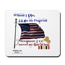 When I Die... Iraq Mousepad
