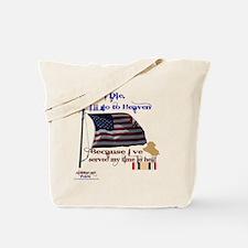 When I Die... Iraq Tote Bag