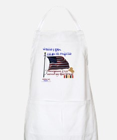 When I Die... Iraq Apron
