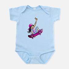 SK8 Girl Infant Bodysuit