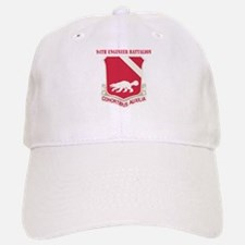 DUI - 94th Engineer Battalion with Text Baseball Baseball Cap