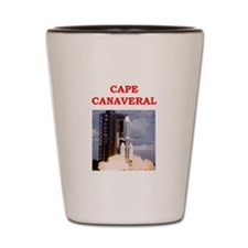 cape canaveral Shot Glass