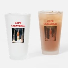 cape,canaveral Drinking Glass