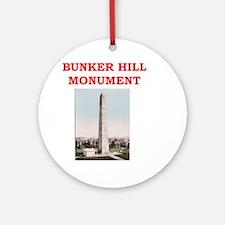 bunker hill Ornament (Round)