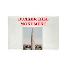 bunker hill Rectangle Magnet