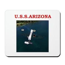 uss arizona Mousepad