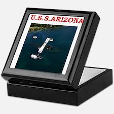 uss arizona Keepsake Box