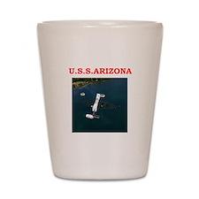 uss arizona Shot Glass