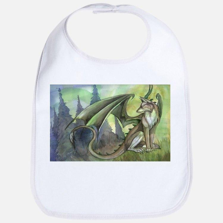 Dragon wolf hybrid Bib