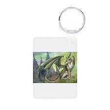 Dragon wolf hybrid Keychains