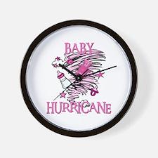 BABY HURRICANE Wall Clock