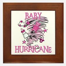 BABY HURRICANE Framed Tile