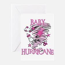BABY HURRICANE Greeting Cards (Pk of 10)