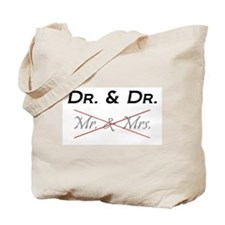 DOCTOR & DOCTOR - Not Mr. & Mrs! Tote Bag