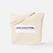Ann Coulter 4 President Tote Bag