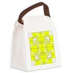 Yellow Owls Design Canvas Lunch Bag