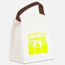 Yellow Stadium Canvas Lunch Bag