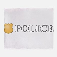Police.png Throw Blanket