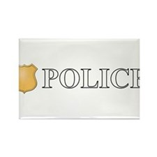 Police.png Rectangle Magnet