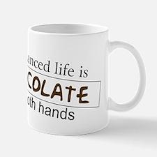 Chocolate in both hands Mug