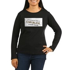 Chocolate in both hands T-Shirt