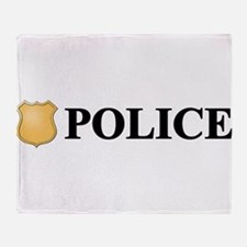 Police B.png Throw Blanket