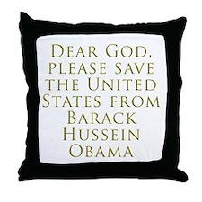 Save Us Throw Pillow