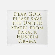 Save Us Throw Blanket