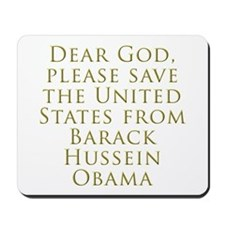 Save Us Mousepad